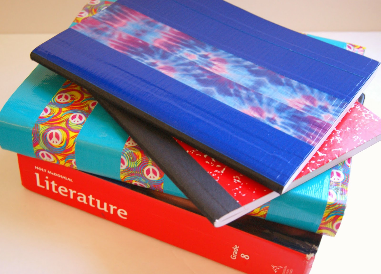 Washi Tape Book Cover Ideas ~ Michelle paige s book covers with duck tape and washi