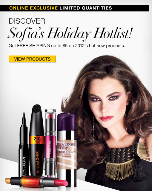COVERGIRL's Newest with Sofia Vergara