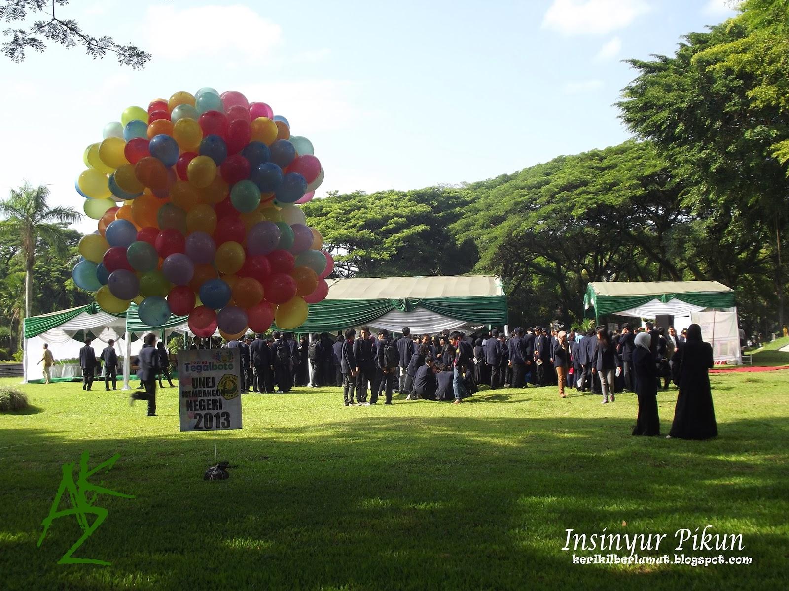 Festival Tegal Boto 2013 Universitas Jember - Hari Pertama