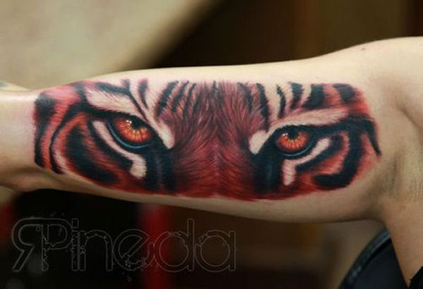 cat tattoo 3d