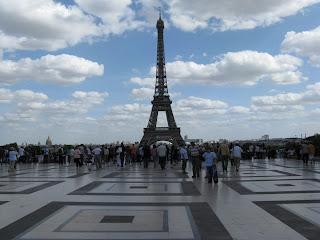 Piazza del Trocadéro e Tour Eiffel