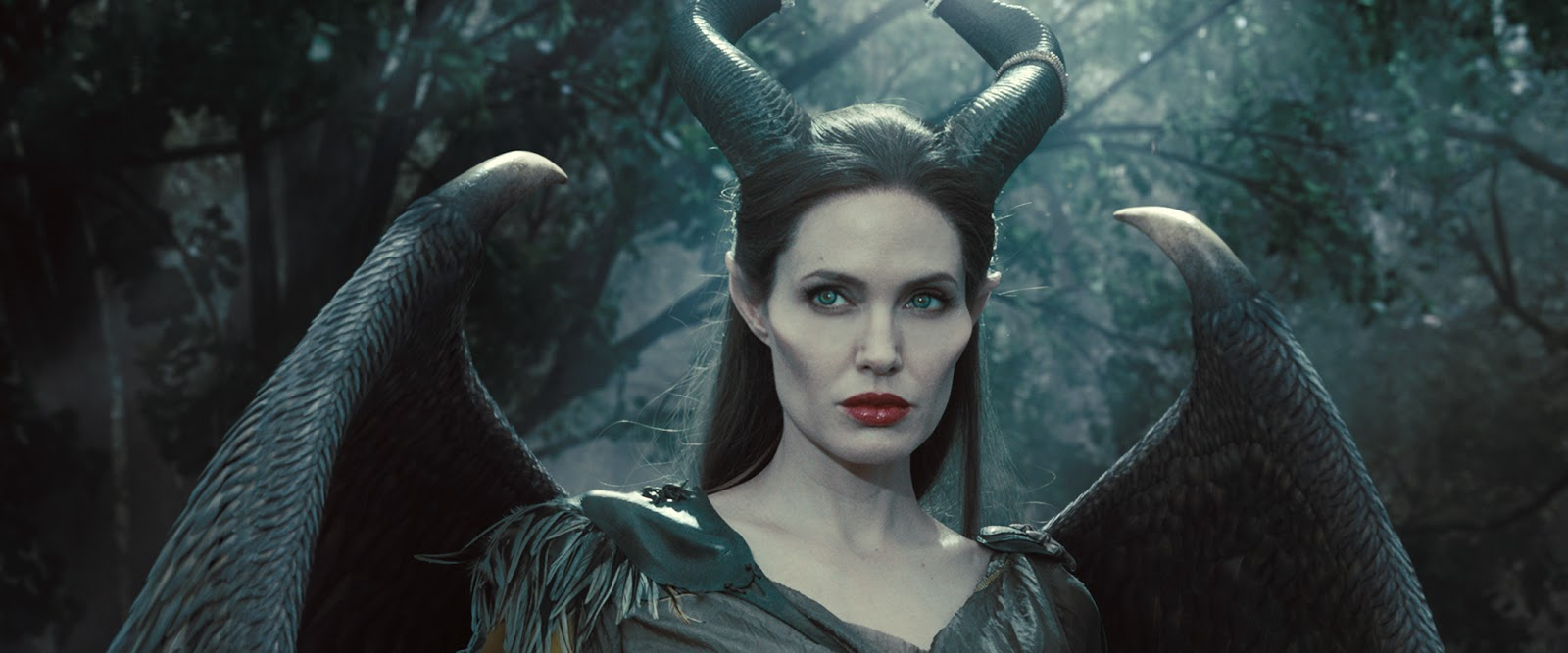 Gambar Maleficent Animasi Bergerak Walt Disney Angelina Jolie Movie