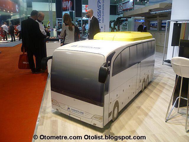karton otobüs