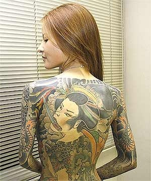 Inspiration yakuza tattoos for Female yakuza tattoo
