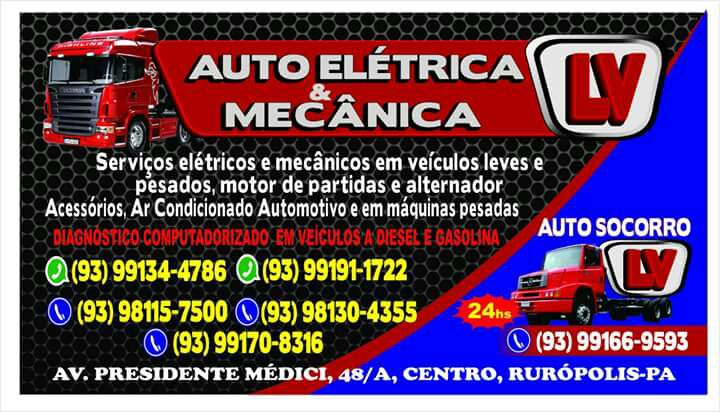 Auto Elétrica Mecânica LV