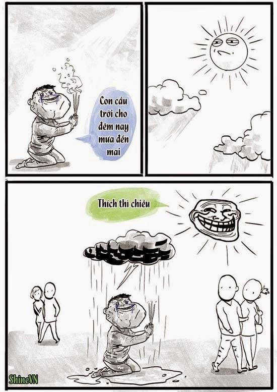 Thơ chế FA cầu mưa hay hài bựa nhất