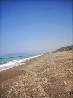Empty Beach, Rhodes