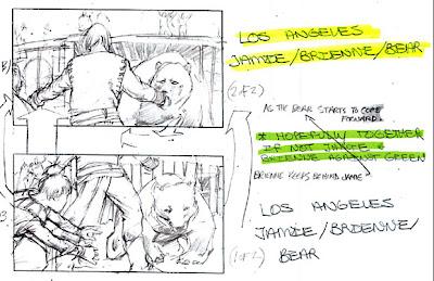 Stroyboard oso y doncella - Juego de Tronos en los siete reinos