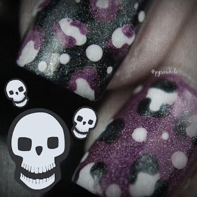 Teal & Pink Leopard Print