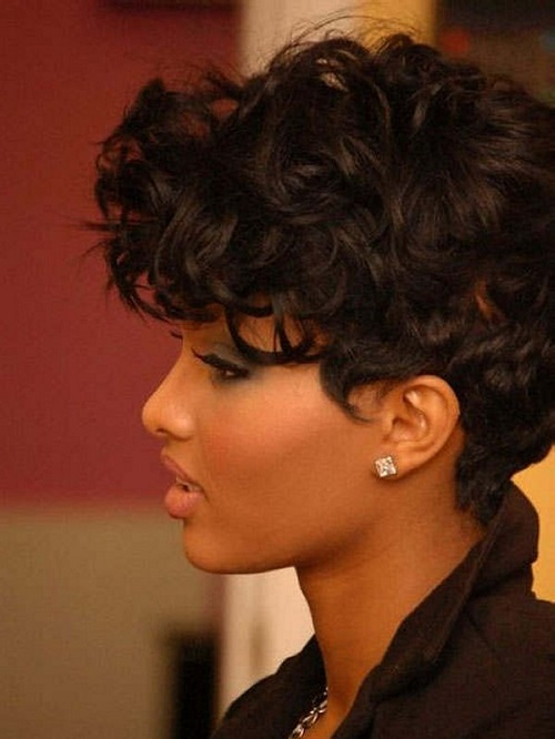 Quick Cute Hairstyles for Black Women with curly hair
