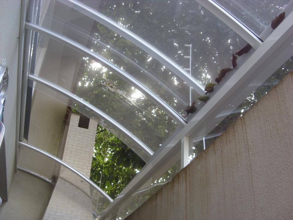 Perfil toldos e coberturas de policarbonato for Perfiles para toldos correderos