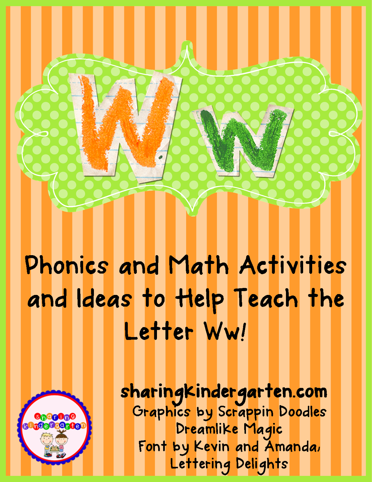 http://www.teacherspayteachers.com/Product/Ww-Activities-771706