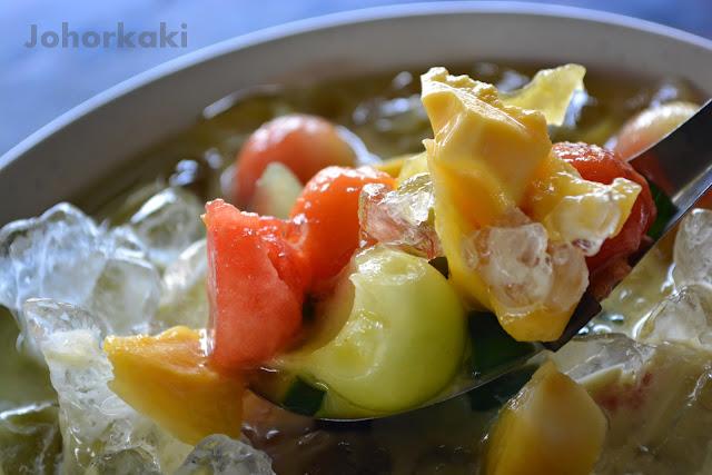 Warung-Top-10-Ayam-Penyet-Ais-Buah-Johor-Bahru-Kampung-Pasir-Putih