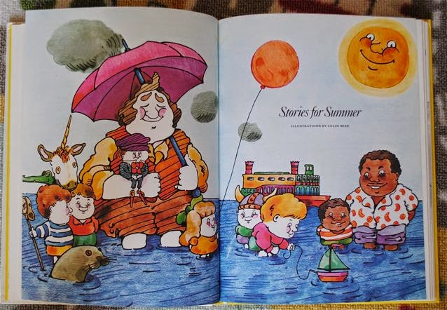 Stories for all seasons book spread