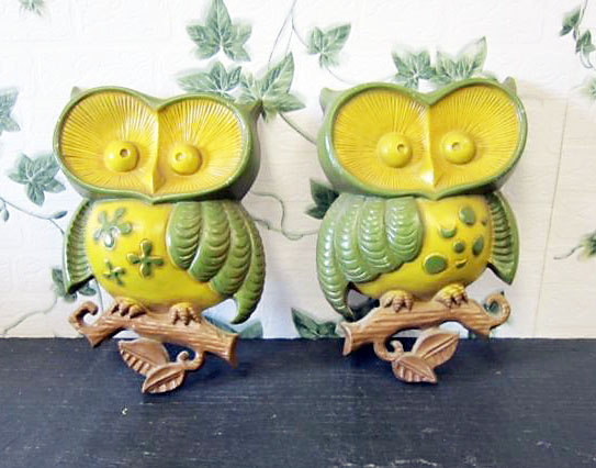Awesome Vintage Owl Wall Decor Collection - Wall Art Design ...