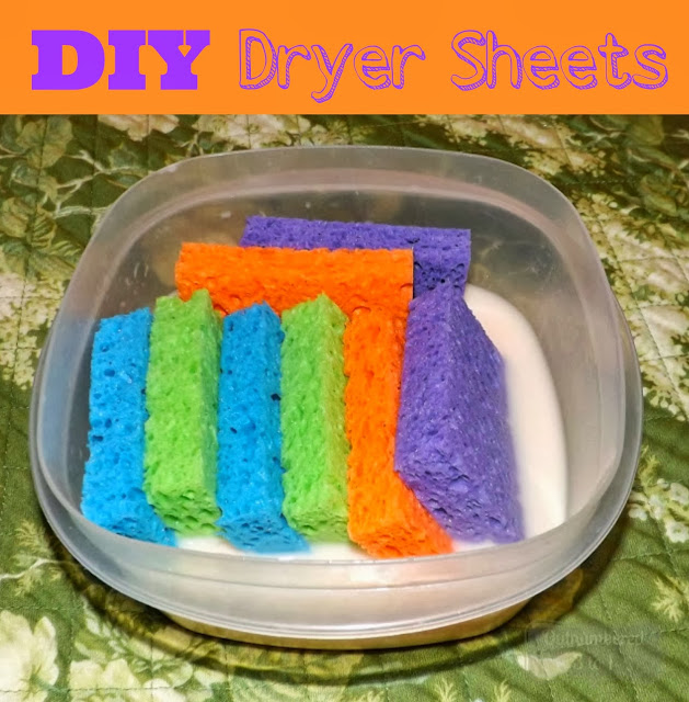 Learn how to easily make your own DIY Dryer Sheets and they're super budget friendly too!