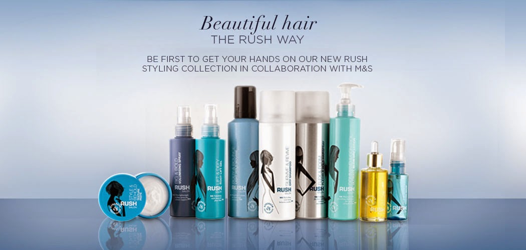 NEW: Rush Hair x Marks and Spencer