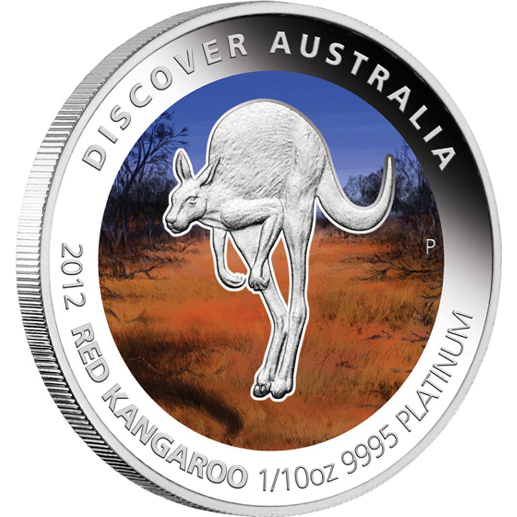Gold Australian Platinum: Gold Australia: 2012 Discover Australia Platinum Five Coin