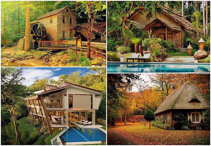 Conoce los dise os m s bonitos de caba as del bosque for Las casas mas hermosas del mundo