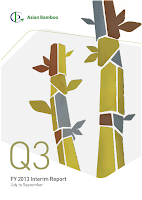 Q3 2013, report, Asian Bamboo