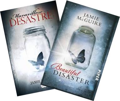 Portadas del libro Maravilloso desastre