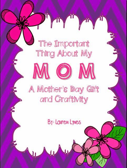 http://www.teacherspayteachers.com/Product/The-Important-Thing-About-My-Mom-A-Mothers-Day-Card-688199