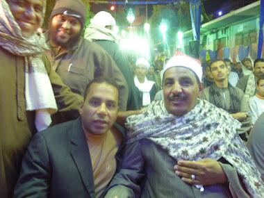 الشيخ/ محمود سلمان الحلفاوى والمحاسب/ ياسر البلبوشى