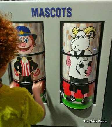 The National Football Museum at Urbis, Manchester Mascot game for kids Rammy