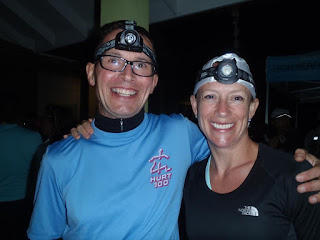 Matt Sessions and Mel Bos at HURT 100-miler
