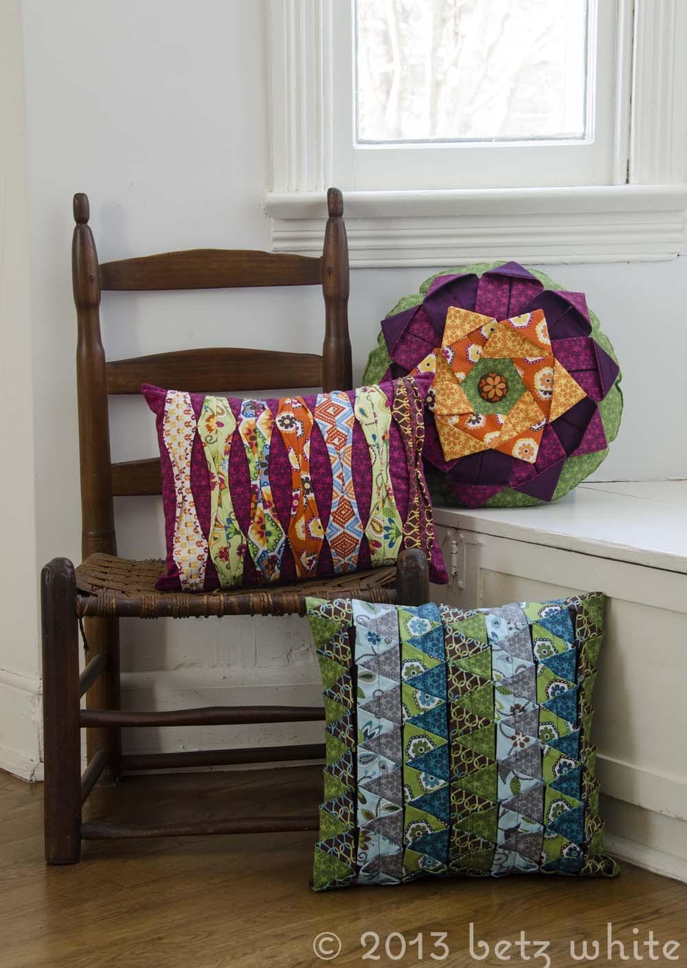 three times a lady   pillows
