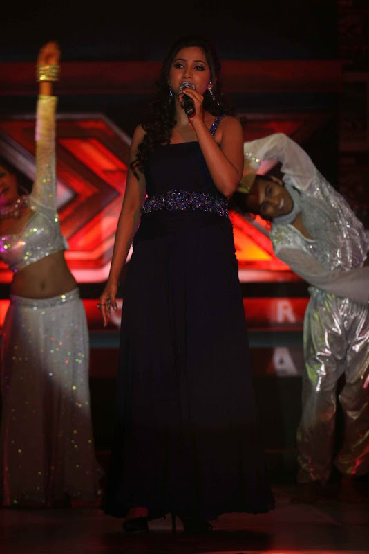 Shreya Ghoshal Hot  Sony TV Music Show X Factor Launch Party Stills Photoshoot images