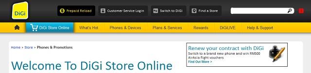 Digi Online Store