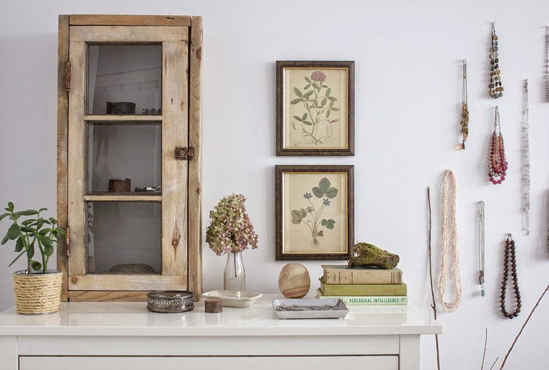 vintage wood cabinet
