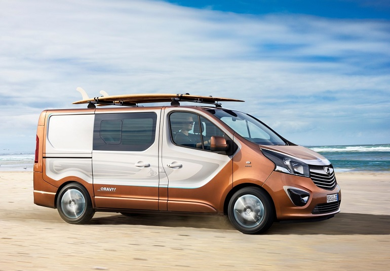 Car Reviews New Car Pictures For 2019 2020 Opel Vivaro Surf Concept
