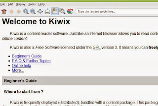 access wikipedia offline using kiwix