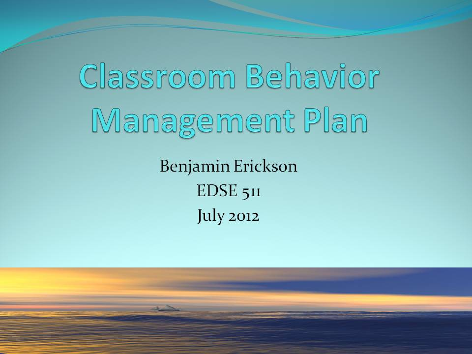 essay on behavior in class Here we introduce classroom management for special education teachers learn the basics of behavior plans and handling challenging behavior from students.