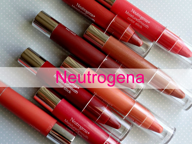 Neutrogena MoistureSmooth Color Sticks