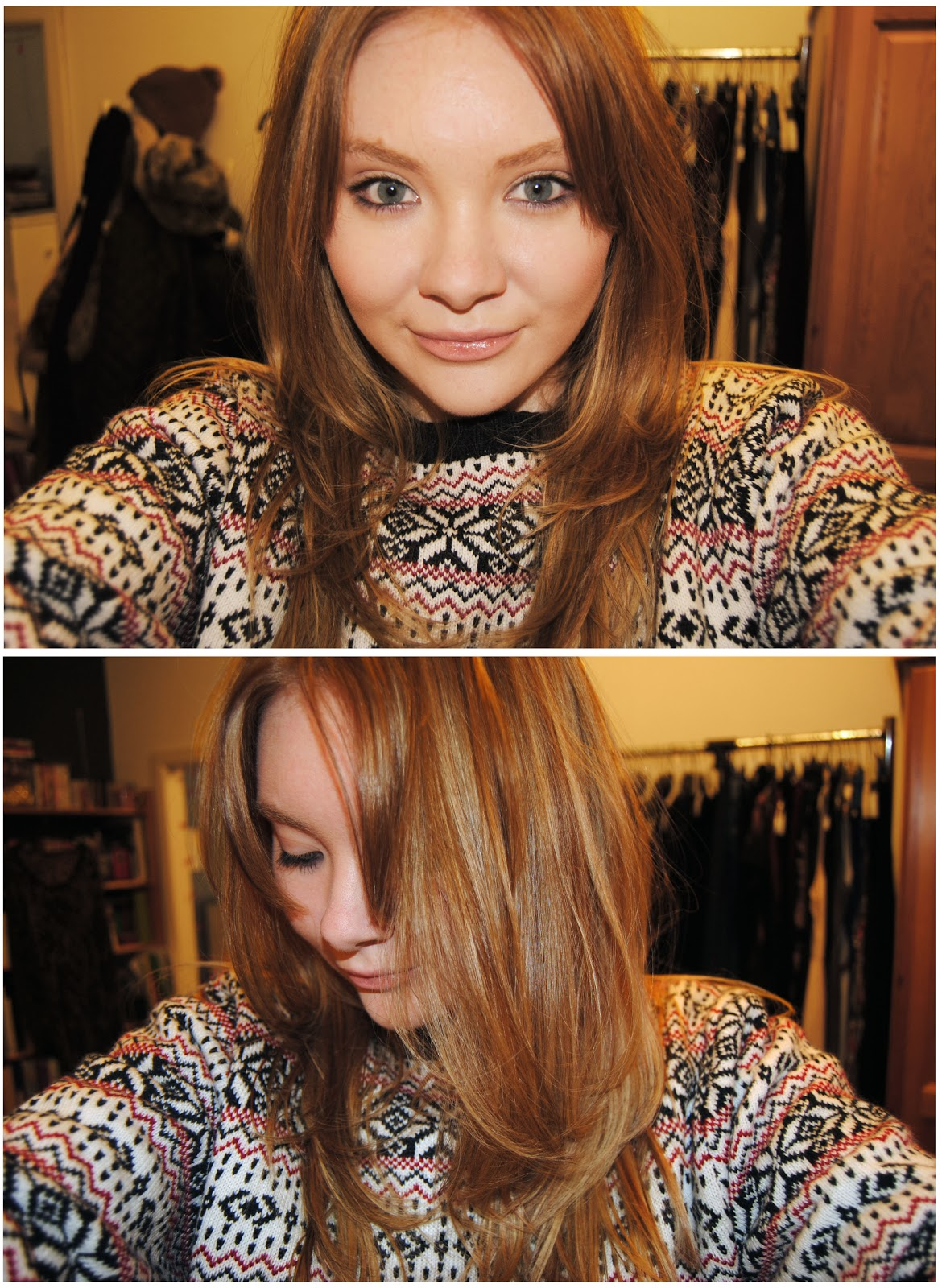 decided to go for it and get my hair dyed a darker blonde