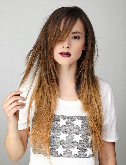 Cortes para cabello largo lacio mujer