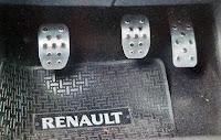 pedalera interior renault megane 2 II sport