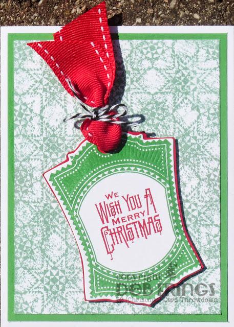 Christmas Tag - photo by Deborah Frings - Deborah's Gems