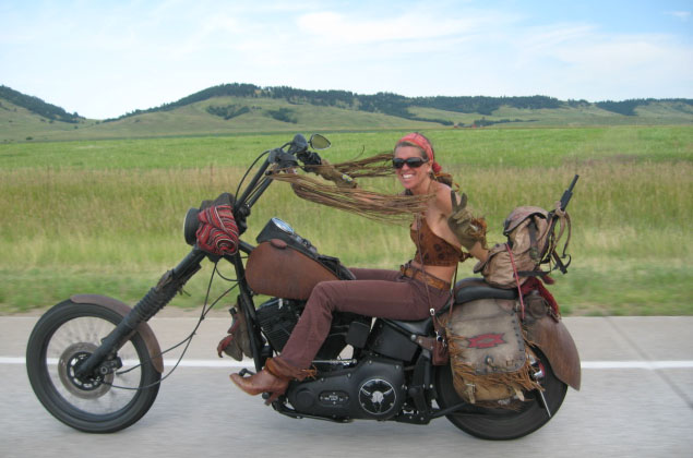 biker chicks are easy