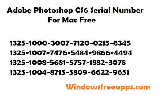Photoshop Cs6 Serial Number Generator