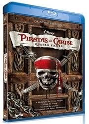 Baixar Quadrilogia Piratas do Caribe Bluray 720p Dublado Torrent