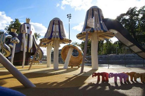 Amazing Unseen Playgrounds For Children