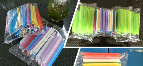 multi piececs drinking straw packaging machine Strohhalme Verpackungsmaschine آلة التعبئة والتغليف