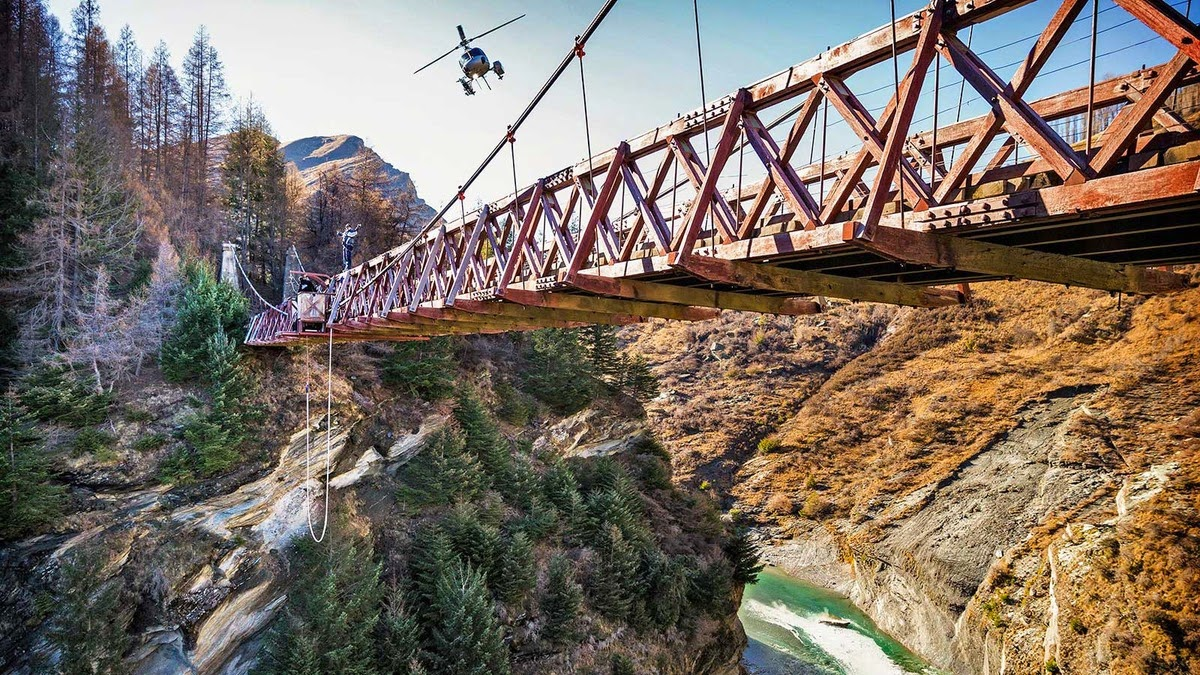 This Is What It Looks Like to Complete 5 Extreme Sports in 1 Hour