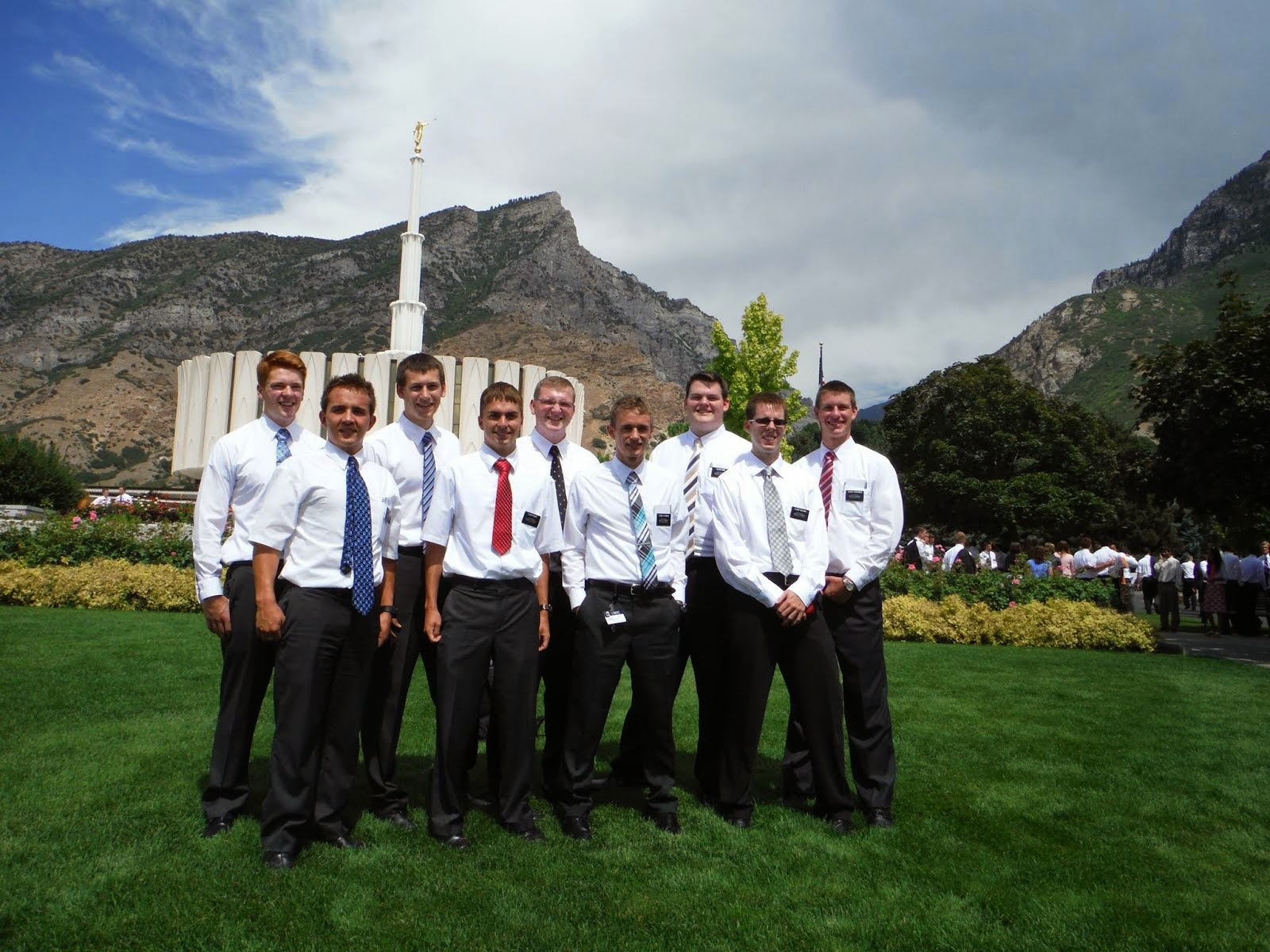 MISSIONARY TRAINING CENTER (MTC) DISTRICT AT THE PROVO TEMPLE