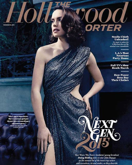 Actress @ Daisy Ridley - The Hollywood Reporter, November 2015
