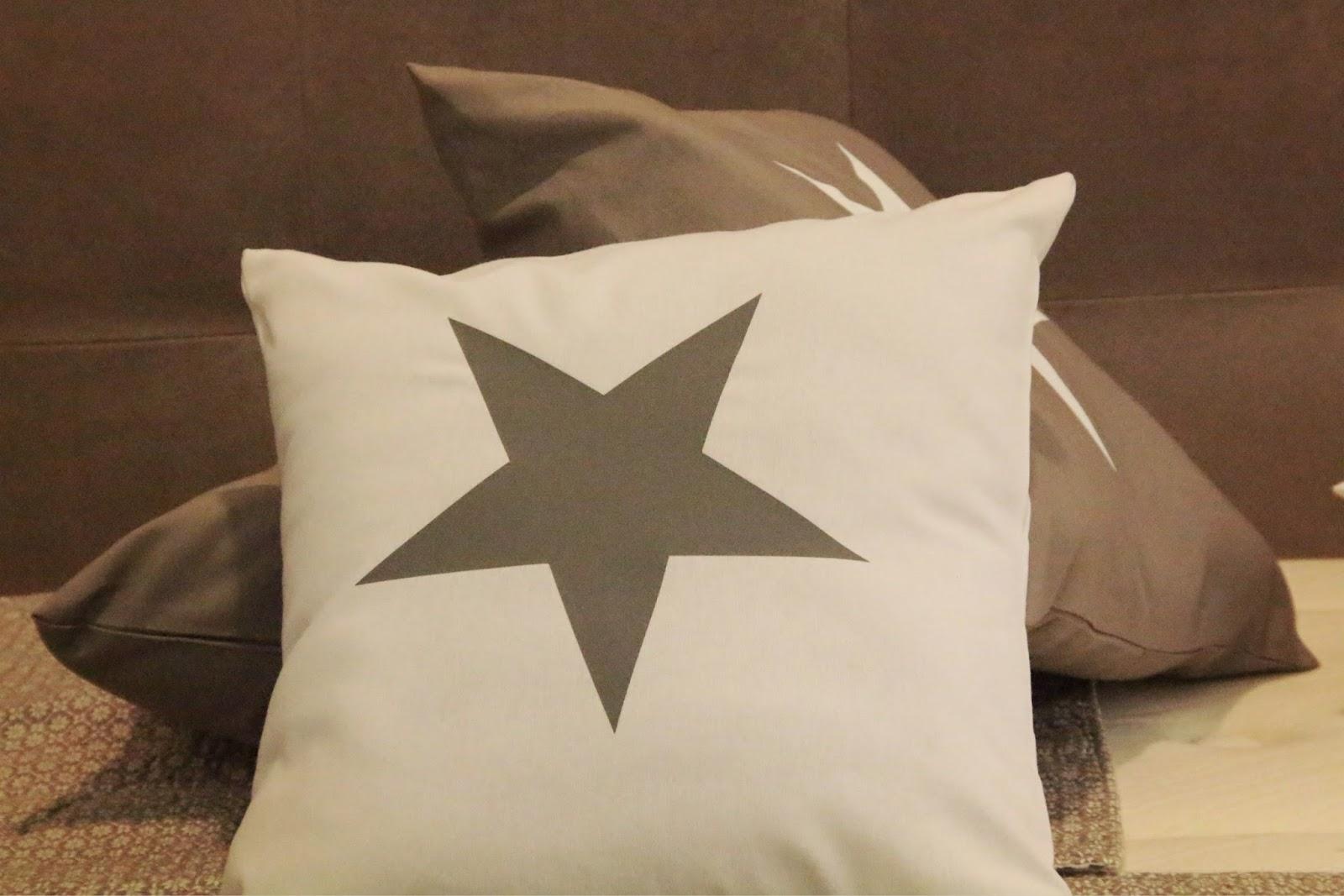 Decoración,Kenay Home,Cojín con estrella
